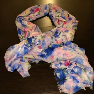 Last chance GUC Viscose Floral Scarf Nordstrom